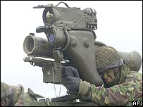 Anti-tank missile launchers