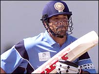Sachin Tendulkar scored 81 for India