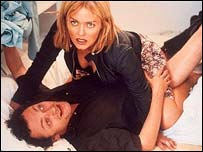 Patsy Kensit and Michael Hodgson
