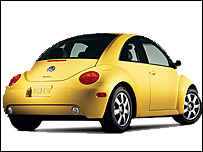 The new VW Beetle