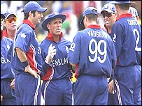 England gather around stand-in skipper Alec Stewart