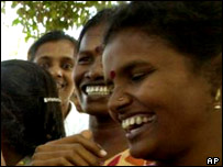 A meeting of Sinhala and Tamil mothers committed to peace
