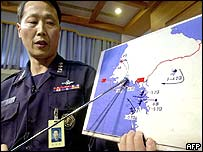 South Korean Colonel Oh Sung-Dae explains the incident