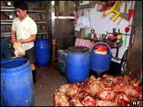 Killing of chickens in Hong Kong