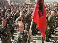 KLA troops