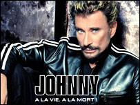 Cover of Johnyy Hallyday's latest CD