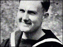 A young Jim Callaghan in naval uniform