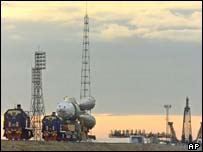 The Soyuz booster rocket