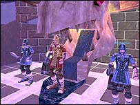 Screen-shot from online game EverQuest