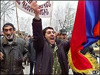 Armenian opposition demonstration