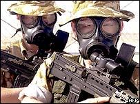 Royal Marines in Kuwait