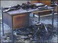 School arson