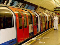 The Central Line train