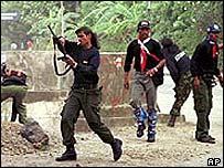 Anti-independence militia in East Timor