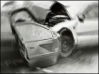 Picture of Lincolnshire car crash from 2002