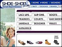 Online shopping basket grab