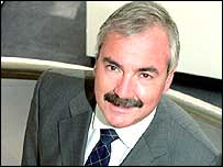 O2 chief executive Peter Erskine