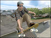 Screengrab from Pro Skater 4