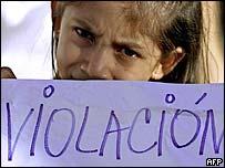 Child protester