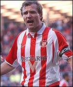 Sunderland captain Michael Gray