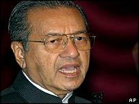 Prime Minister Mahathir Mohammed