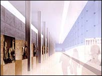 Design plan for the New Acropolis Museum