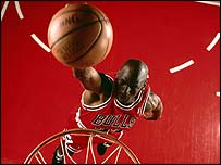 Michael Jordan at his peak for the Chicago Bulls