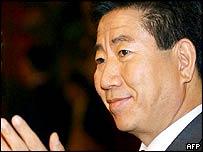 South Korean President-elect Roh Moo-hyun