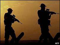 British troops in Kuwait