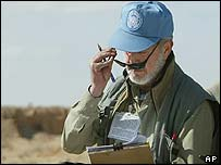 United Nations weapons inspector in Iraq