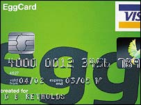Egg credit card
