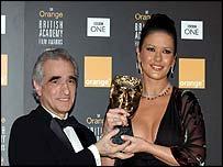 Martin Scorsese and Catherine Zeta Jones