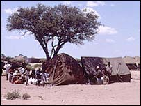 Bushman settlement