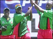 Kenya had plenty to celebrate in front of their home crowd