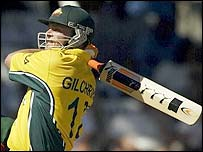Adam Gilchrist scored 61 for Australia