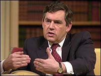 Gordon Brown wants more students to experience business