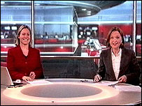 Sophie Raworth and Anna Ford