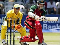 Andy Blignaut starred for Zimbabwe with the third fastest 50 in World Cup history