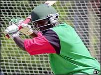 Opening batsman Kennedy Otieno