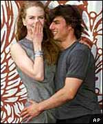 Kidman and Cruise were married for more than a decade