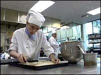 Catering trainees