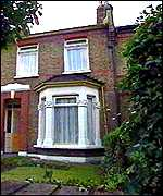 The family home in Eltham. London
