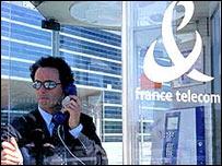 France Telecom phone box