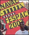 Poster at the opening of the Fespaco film festival