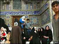 Al-Kadhimain Holy Shrine in Baghdad