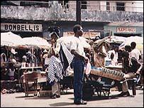 Banjul street scene