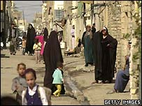 Shia Arabs in Assaddam city on the outskirts of the capital