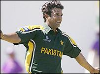Pakistan's Wasim Akram
