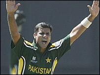 Pakistan captain Waqar Younis