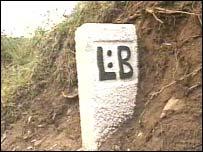 Lostwithiel boundary stone